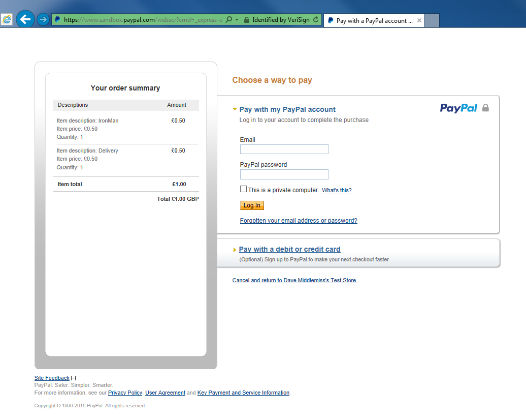 PayPal - understanding the process - Sage Pay