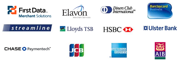 logos of banks Sage Pay works with